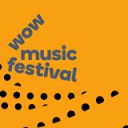 wow music festival logo