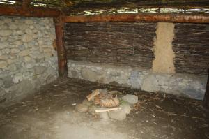 Recreation of a Golaseccan interior , Parco Spina Verde by the Baita Pianvalle