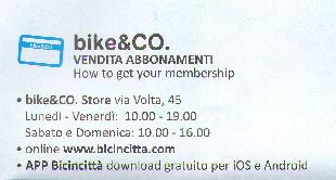 bike&CO access