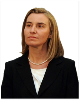Federica Mogherini, EU Foreign Affairs and Security Representative