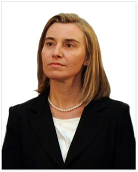 Federica Mogherini, EU Foreign Affairs and Security Representative