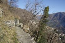 Moltrasio Stone Quarry on the Sentee di Sort
