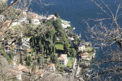 Moltrasio from the Sentee di Sort