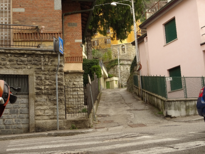 Path off Via Crispi
