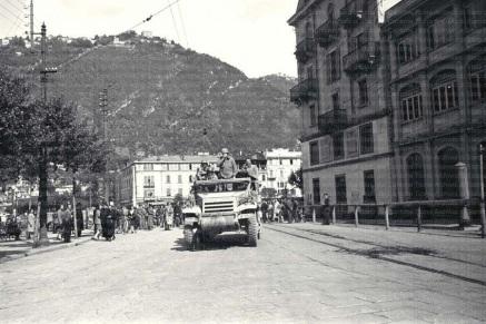 Allied soldiers at Metropole Suisse (Archivio di Stato Cantone Ticino)
