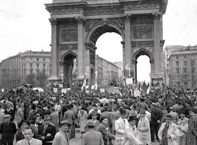 may day 1945 milan