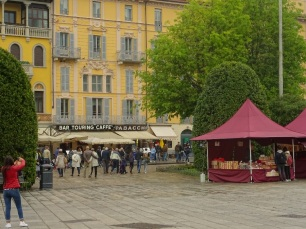 Modern day Piazza Cavour