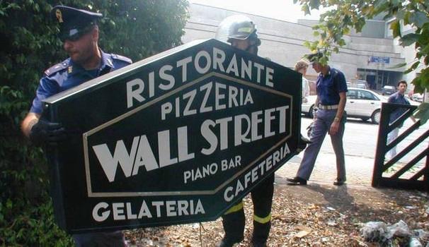 wall street seized