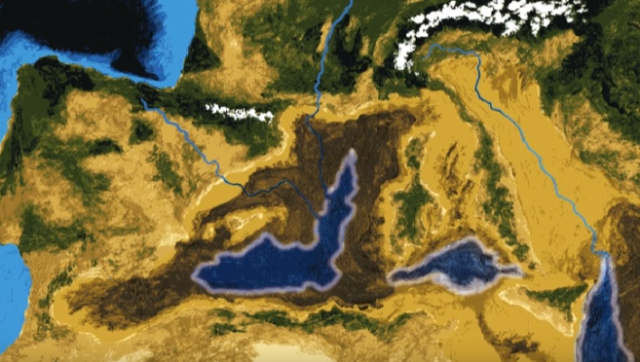 mediterranean 50 mill years