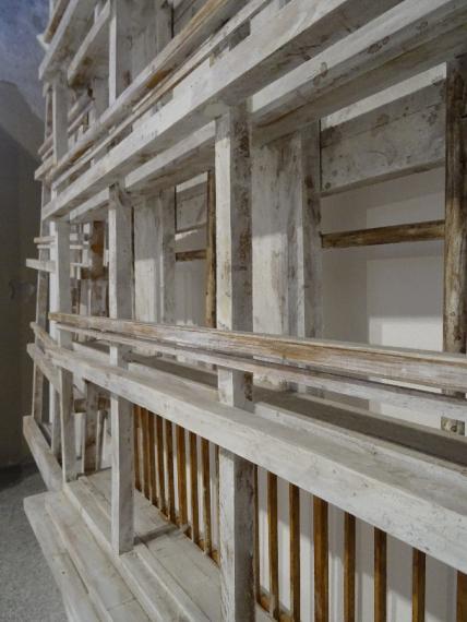 casa del fascio from the side