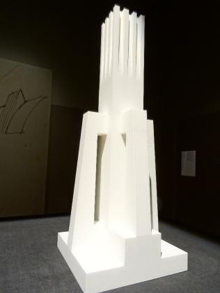 Model of a design by Antonio Sant'Elia