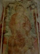 Basilica Crypt - 14th century fresco depicting The Madonna della Latte, p