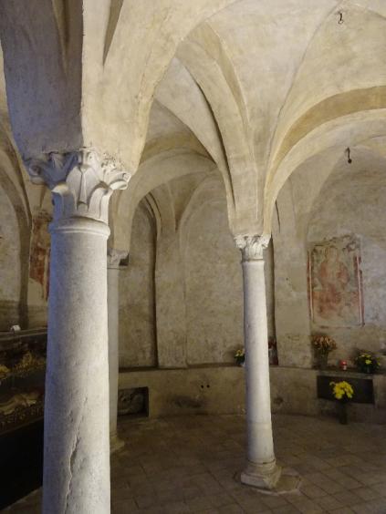 Basilica Crypt with Madonna della Latte