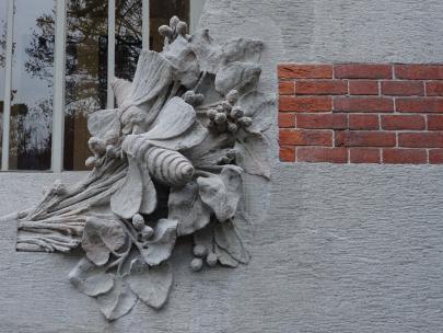 Villa Bernasconi detail