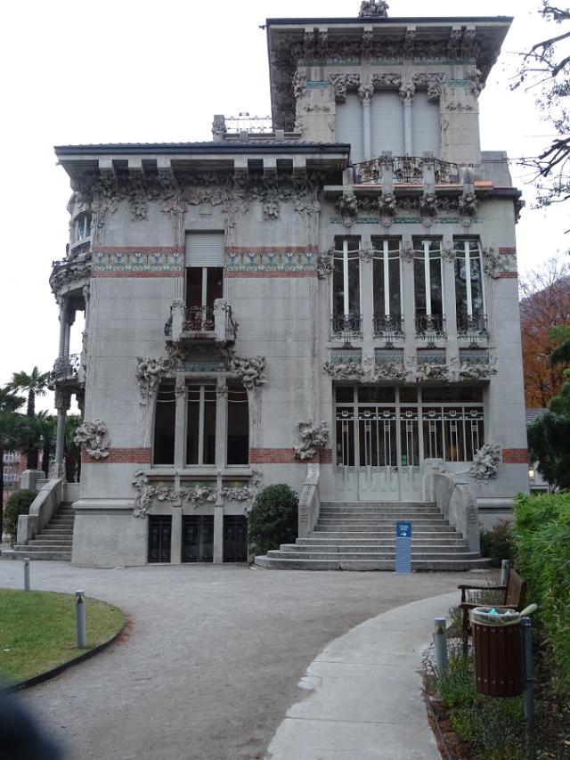Villa Bernasconi front