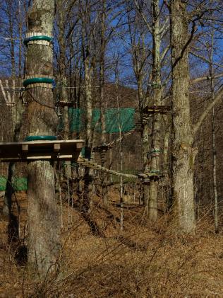 Jungle Raider Park Xtreme trees Caglio Asso to Nesso