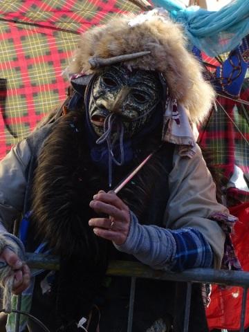 Brut mask rags carnival