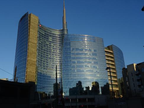 Modern architecture Porta Nuova Milan