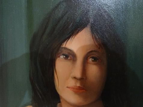 portrait young girl Graziano Dell'Orto descendant of risorgimento hero