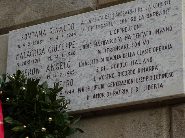 Victims of Tintoria Comense 1