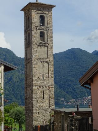 13. Bell tower of the Church of Saint Agata