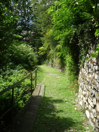6. Walking to Tremezzo