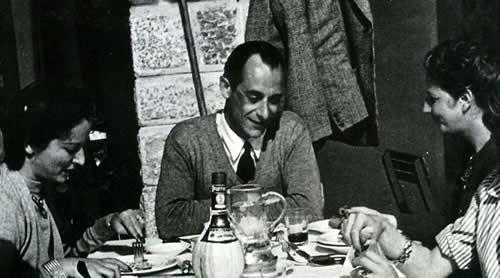 Carlo and Pia at Cortina 1943