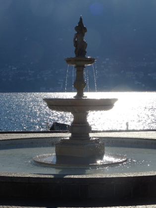 Cernobbio Water fountain