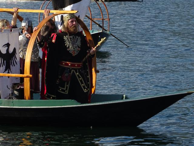 Arrival of Federico Barbarossa