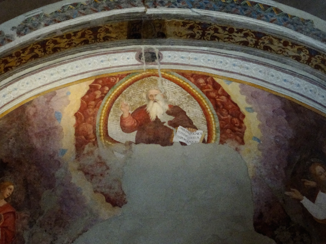 Fresco - SS Cosma and Damiano