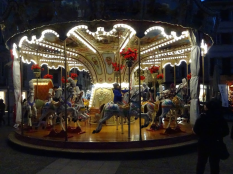 Carousel on Piazza Volta