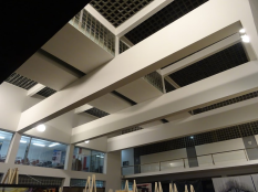 Ceiling of atrium