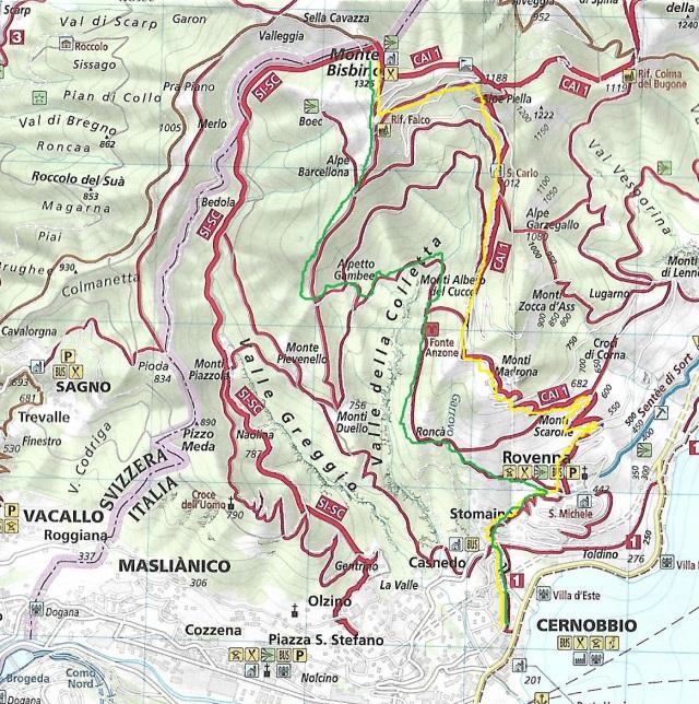 Bisbino Map 1