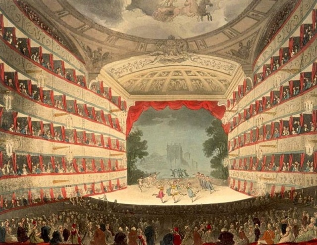 Interior Kings Theatre london 1808