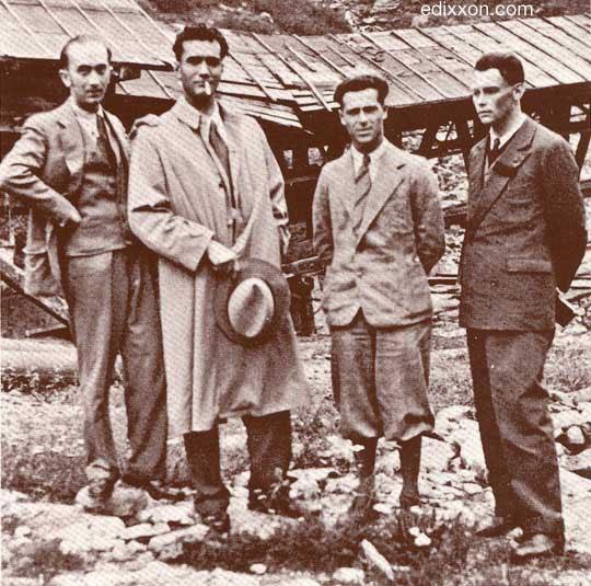 Manlio Rho, Giuseppe Terragni, Renato Uslenghi, Mario Radice
