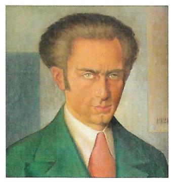 Manlio Rho Self-portrait 1921