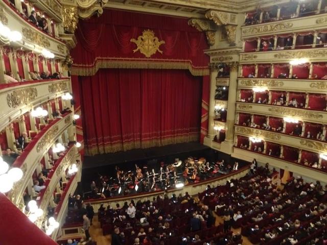 Teatro alla scala Interior
