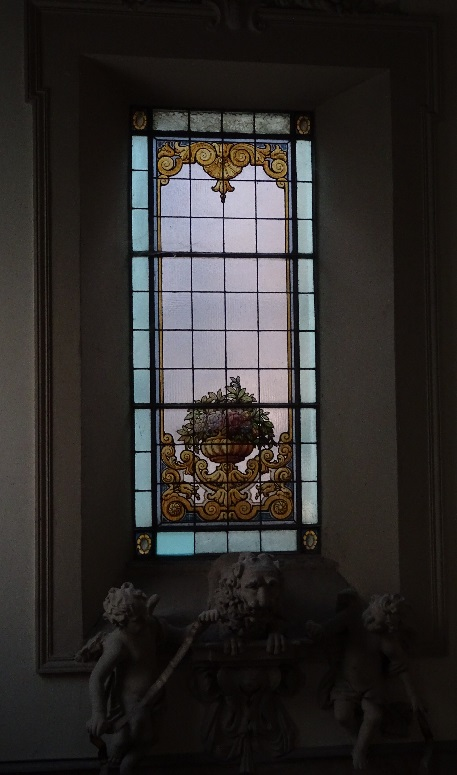Window Palazzo Valle-Bruni