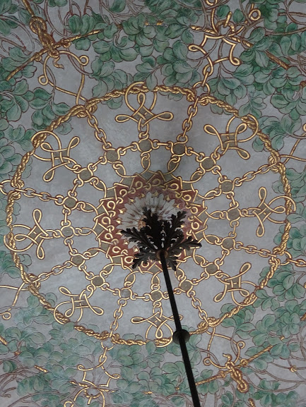 Winter Garden Ceiling detail