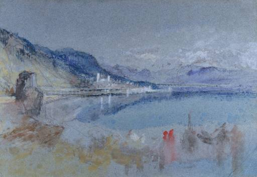 View of Menaggio JMW Turner 1842