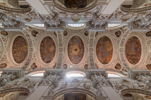 Ceiling Passau Cathedral