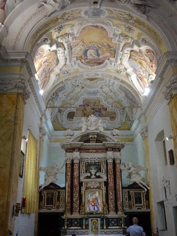Interior of Sant Anna