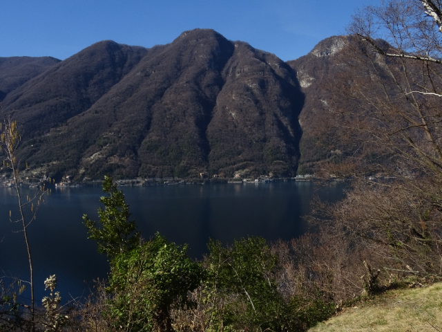 Between Brienno and Argegno