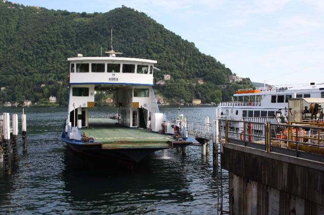 Small car ferry
