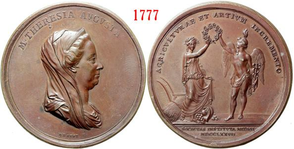 Medal for Agriculture Patriottica