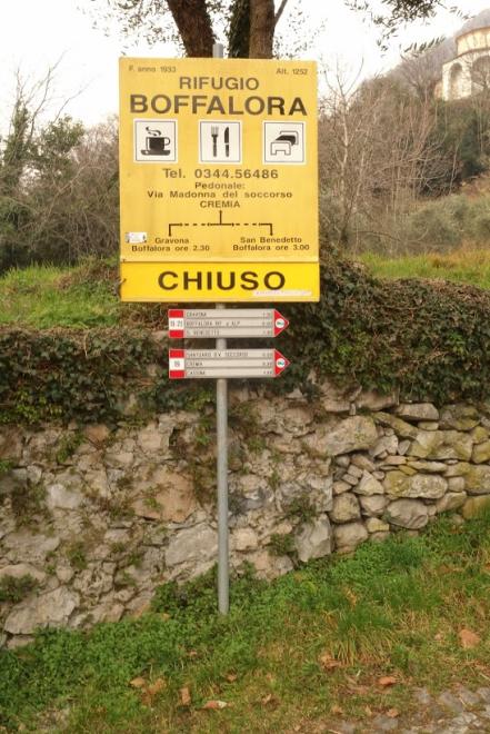 Sentiero start