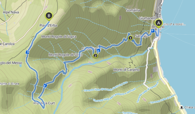Briennos Botanic path