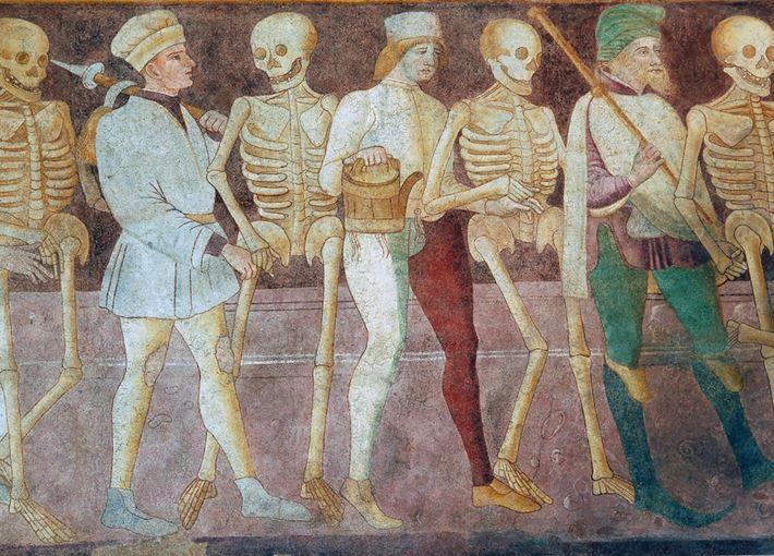 Danza Macabra Clusone detail