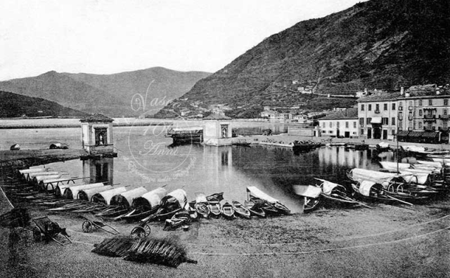 Porto Piazza cavour 1866Foto Vasconi