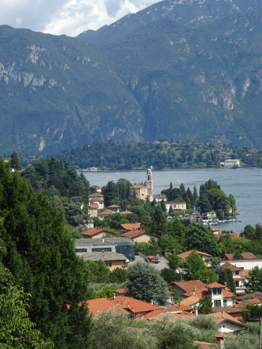 Sublime landscape - Above cadenabbia looking to Bellagio and the Grigne